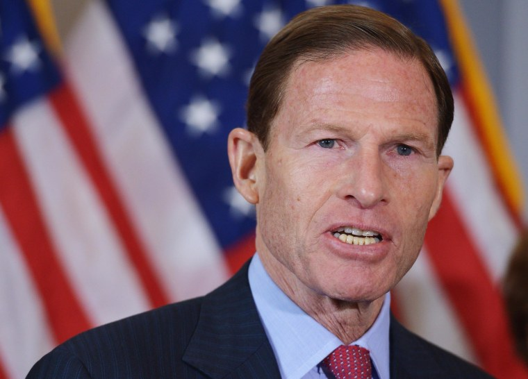 Senator Richard Blumenthal, D-Conn. has urged General Motors to tell owners not to drive any of its recalled cars because of ignition problems that have been linked to 12 deaths.