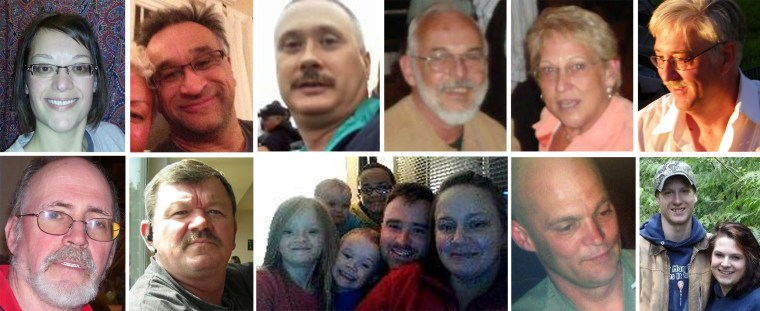 Image: People who are missing in the Oso, Wash., landslide