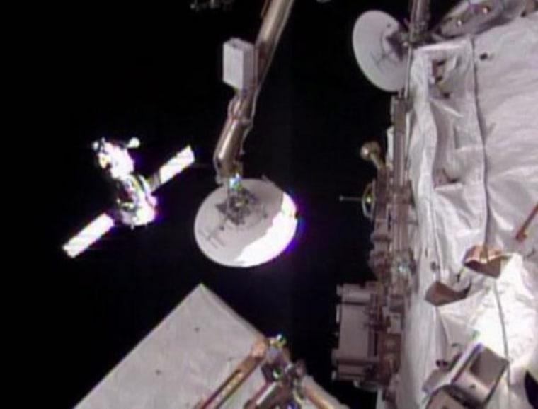 Image: Soyuz approach