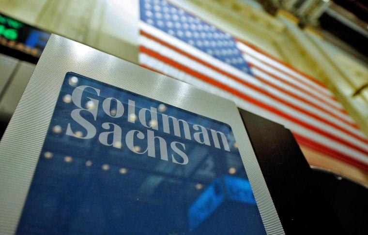 Image: Goldman Sachs 4th quarter 2013 earnings