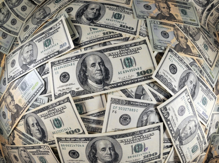 Consumer spending rose in February, disposable income too, the Commerce Department said.