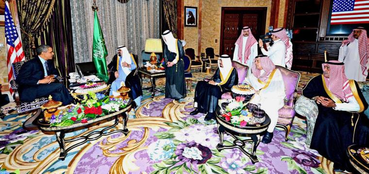 Image: President Obama visits Saudi Arabia