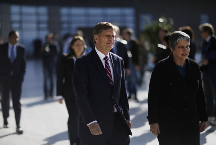 Janet Napolitano, Michael McFaul