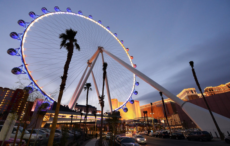 Image: The Las Vegas High Roller Observation Wheel At The LINQ Prepares To Open