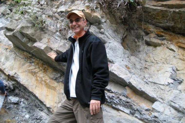 Image: MIT professor of geophysics Daniel Rothman