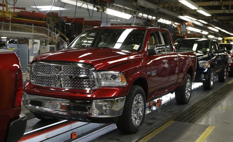 Chrysler's March auto sales rose 13 percent, driven by Dodge Ram trucks