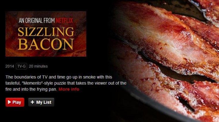Netflix Bacon