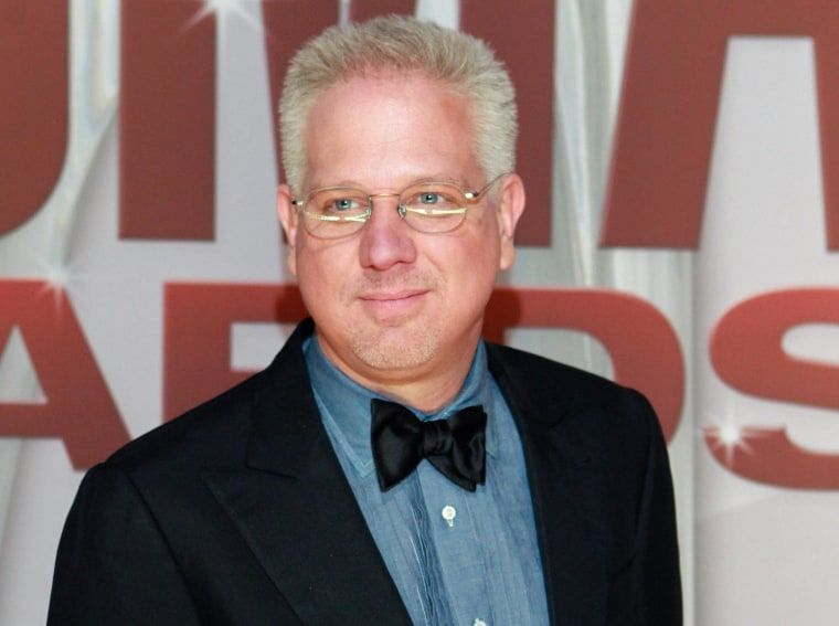 Image: Commentator Glenn Beck arrives at the 45th Country Music Association Awards in Nashville in this file photo