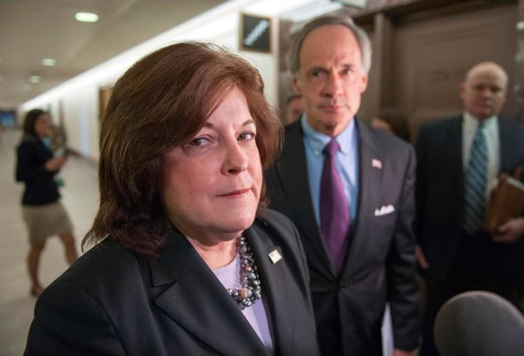 Image: United States Secret Service director Julia Pierson