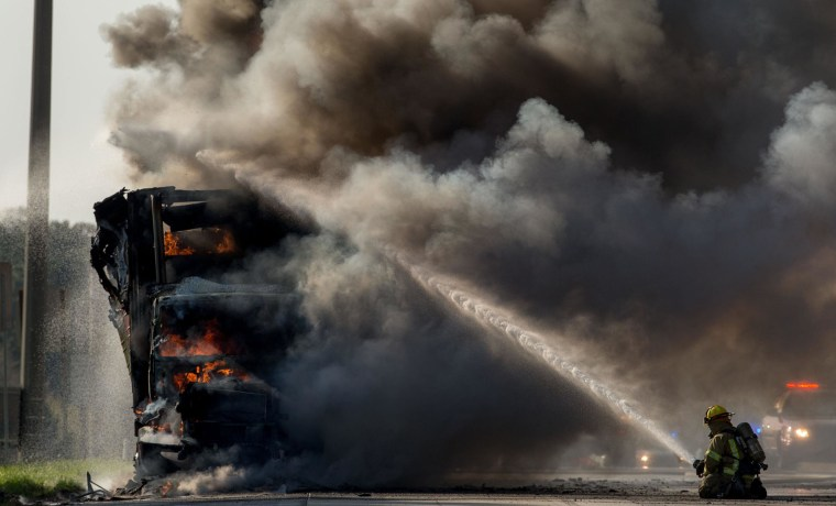 Image: Truck Fire