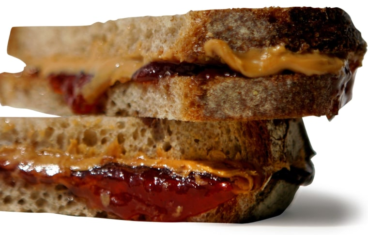 Image: Peanut butter and jelly