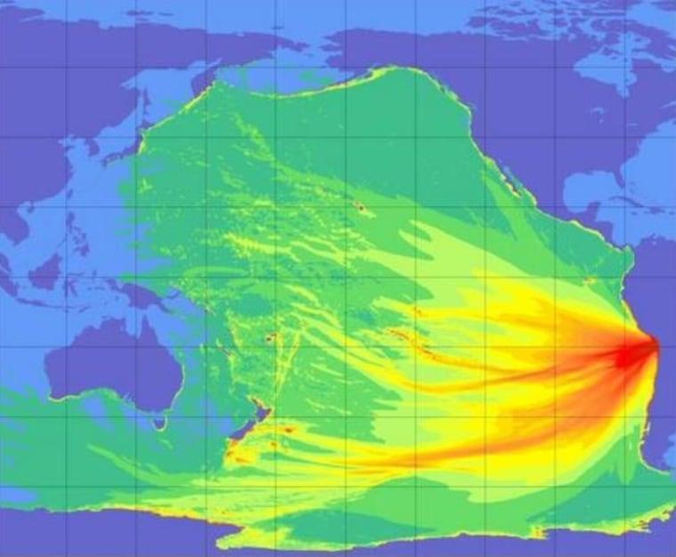 Image: Tsunami forecast