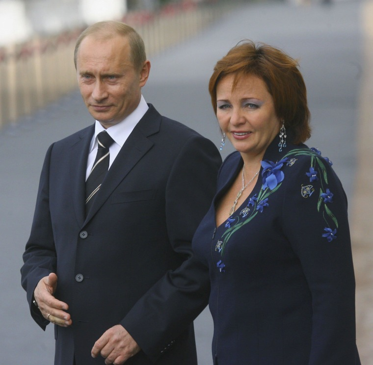 Image: (FILE) Vladimir Putin Officially Divorced St Petersburg G8 Summit 2006 - Day 1