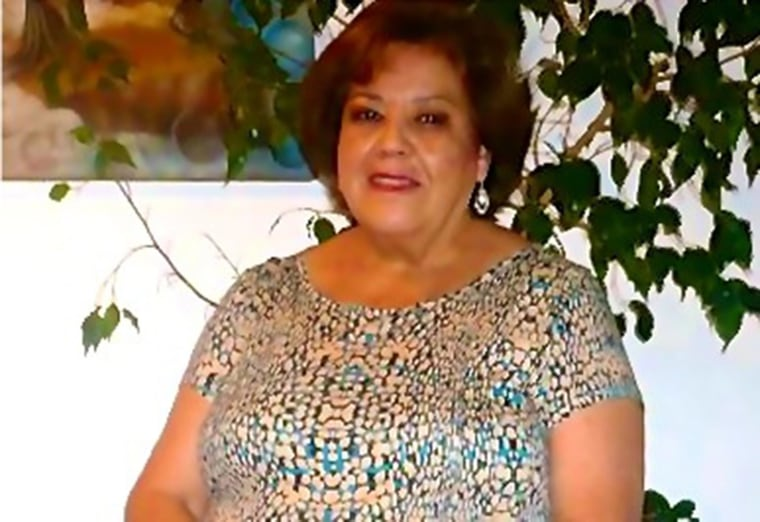 Daniela Pierre-Bravo's grandmother, Maria Angelica Velozo Retamal.