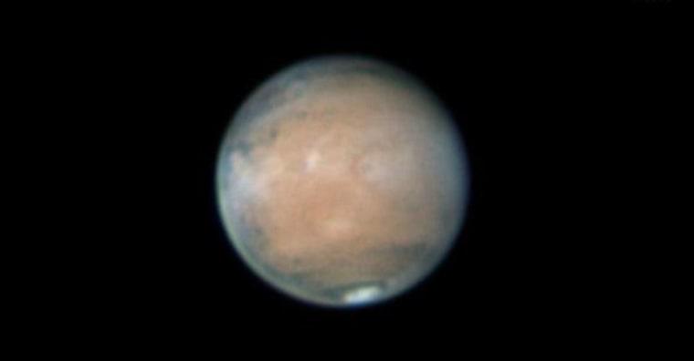 Image: Mars in 2012