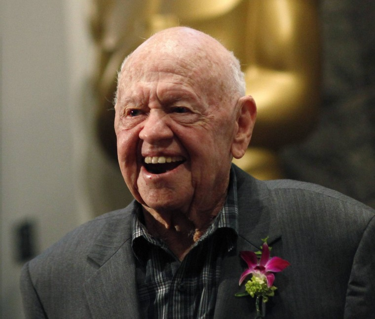 Image: Mickey Rooney in 2012.