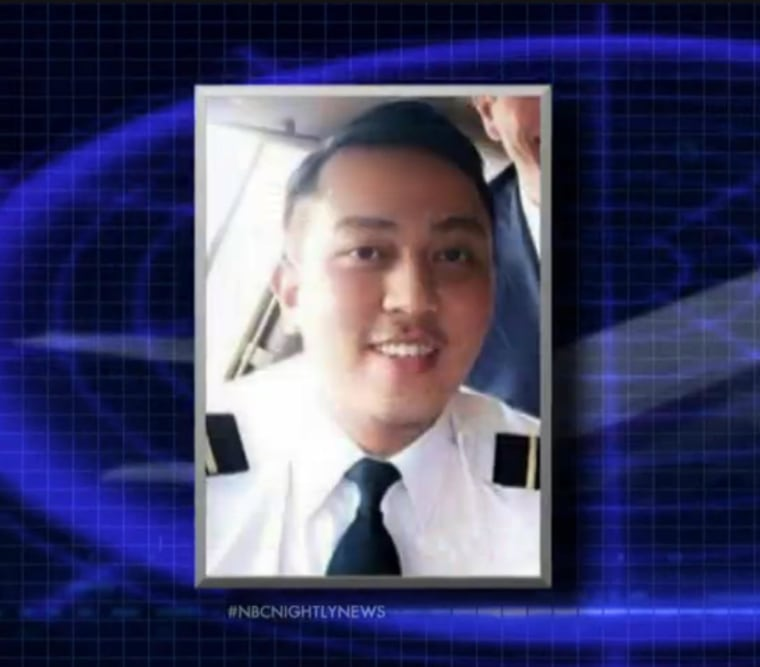 Fariq Abdul Hamid, 27-year-old co-pilot of the missing Malaysia Airlines plane.
