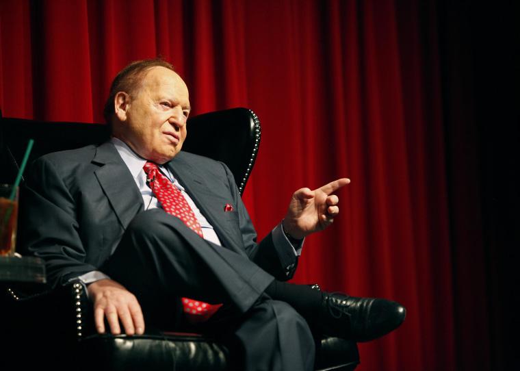 Image: Las Vegas Sands Corporation Chairman Sheldon Adelson