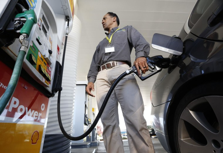 Gas prices have risen almost 5 cents a gallon over the past two weeks on average across the U.S.