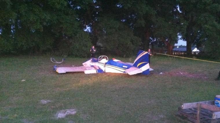 Image: Airplane crash
