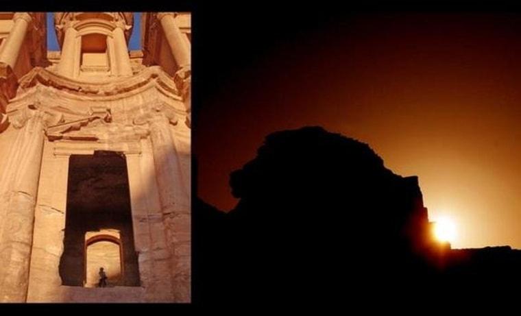 Image: Monastery at Petra