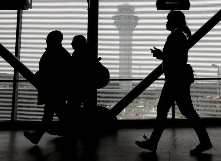 Passengers at O'Hare