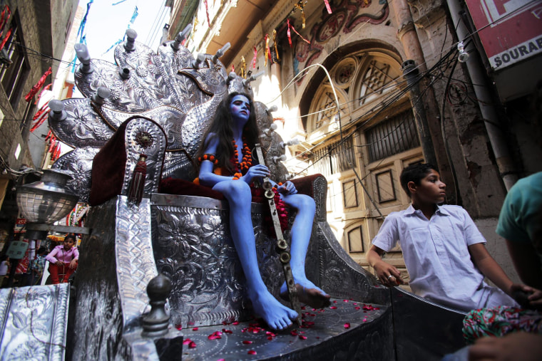 Image: Ramnavmi festival in Amritsar