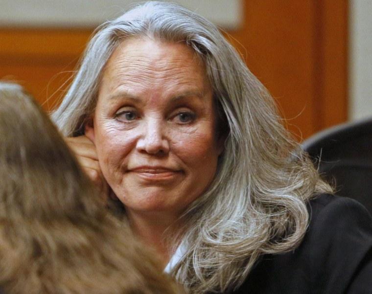 Image: Pamela Phillips looks on in Pima County Superior Court