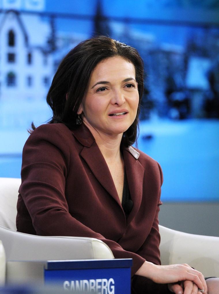 Sheryl Sandberg: No, I'm Not Running for Office Sheryl Sandberg Hobbies