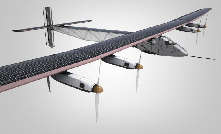 Artist's conception of Solar Impulse 2