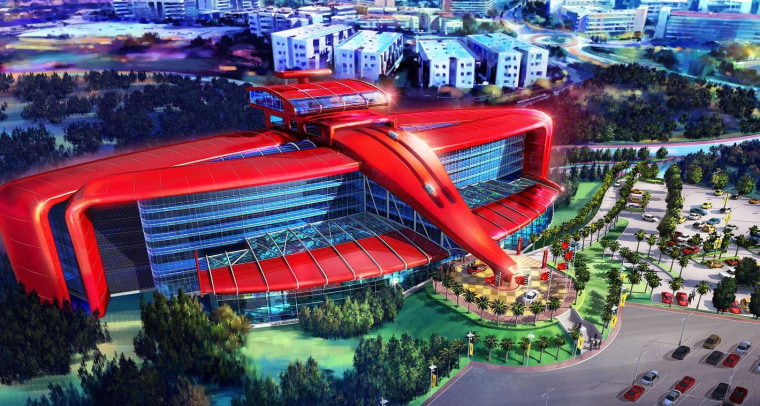 Image: The Ferrari Hotel is scheduled to open in 2016.