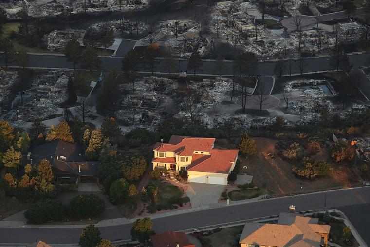 Image: Waldo Fire near Colorado Springs