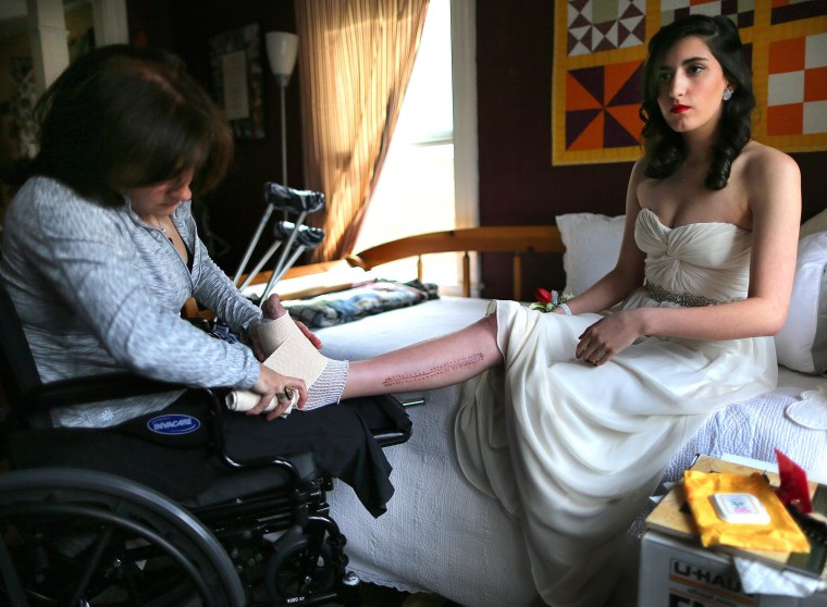 Image: After Marathon attack, Lowell family healing