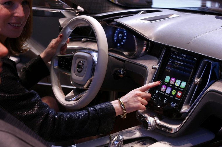 A survey shows that many drivers are concerned that new technology in cars could be hacked.