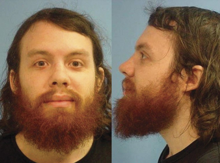 Image: Police booking photo of Andrew Auernheimer