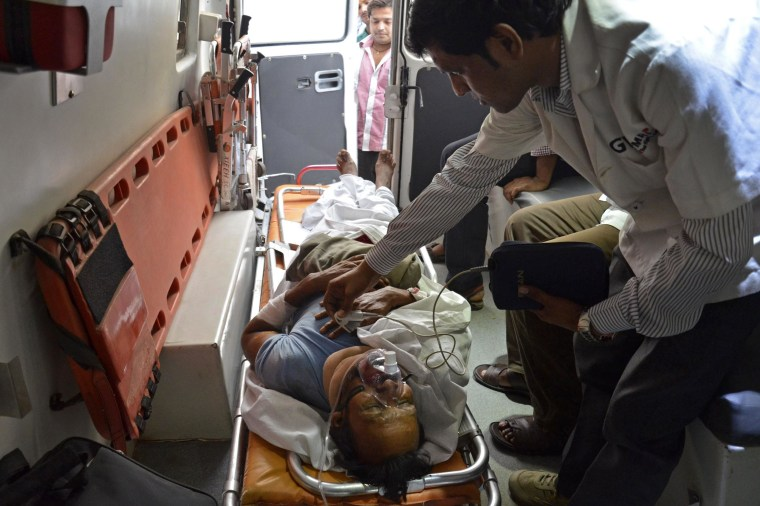 Image: INDIA-MAOIST-ATTACK-ELECTION
