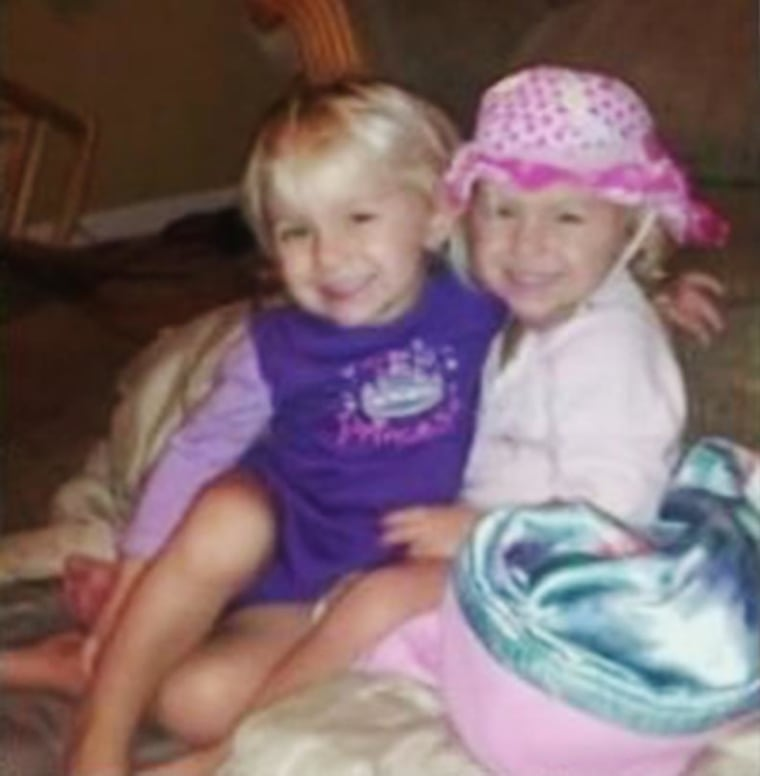 Twins Jocelyn and Shaylyn Spurlock were found dead in a neighbor's pool in Center Township, Ind.