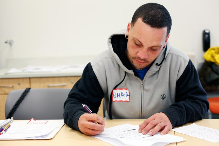Image: Omar Hernandez is a student at TecCentro, a training center which has received funding from the Opportunity Finance Network as part of the My Brother's Keeper Initiative to spur increased education and career opportunities for young men of color.