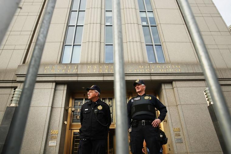 Image: Abu Hamza Terror Trial Begins In New York City