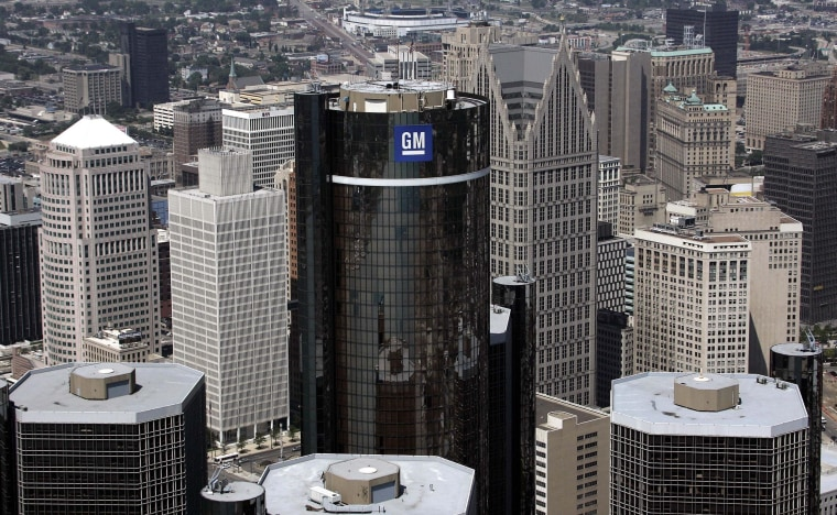 GM said Monday that its head of communications and its human resources chief are leaving the automaker.
