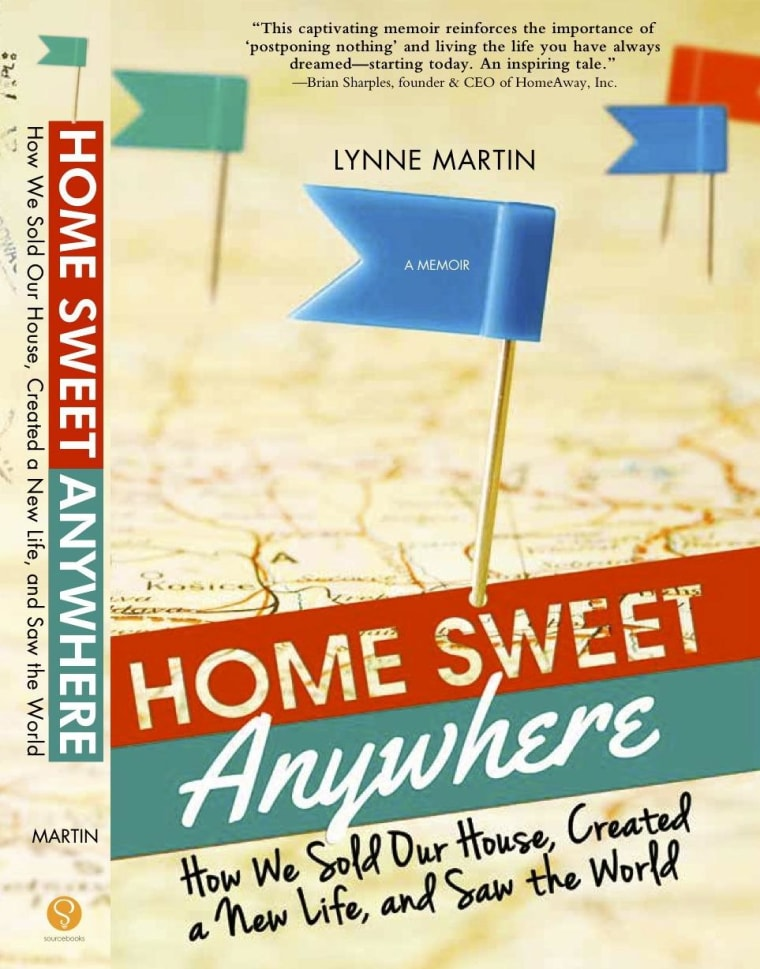 "Image: ""Home Sweet Anywhere"" book"