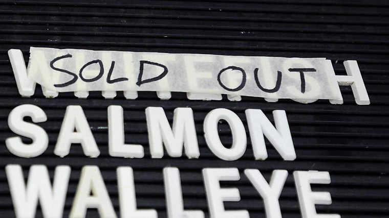 Whitefish sold out