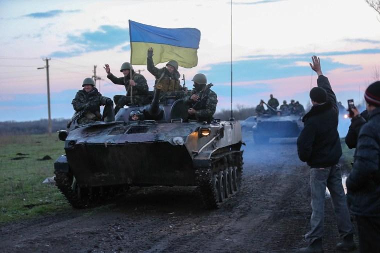 Image: Ukraine Begins 'Anti-Terror Action'