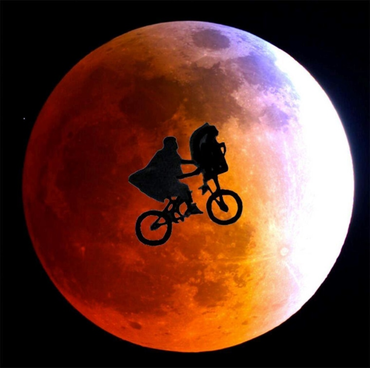 Image: E.T. and the eclipse