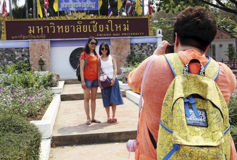 Image: Chinese tourists