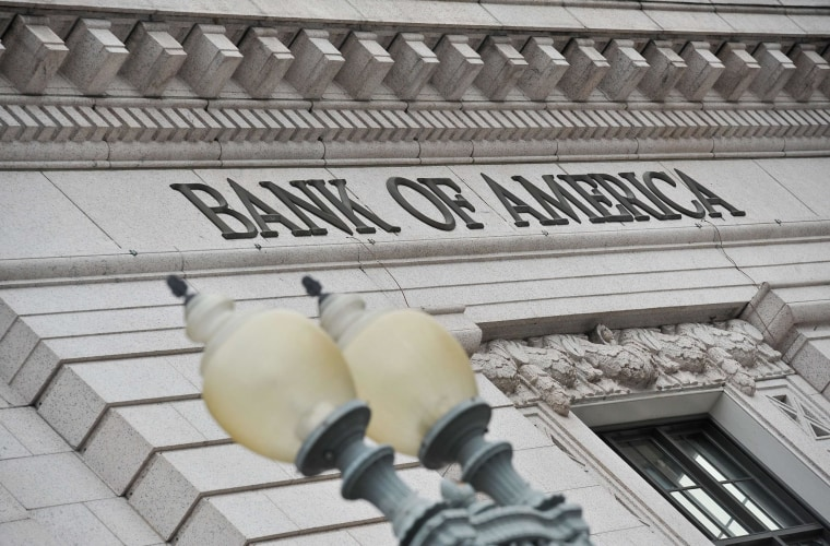 Bank of America posted a first-quarter loss after taking $6 billion in charges for legal expenses.