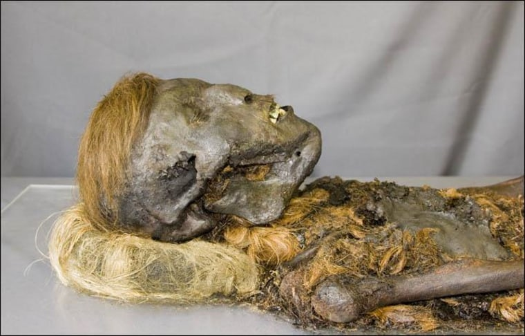 Image: Siberian mummy