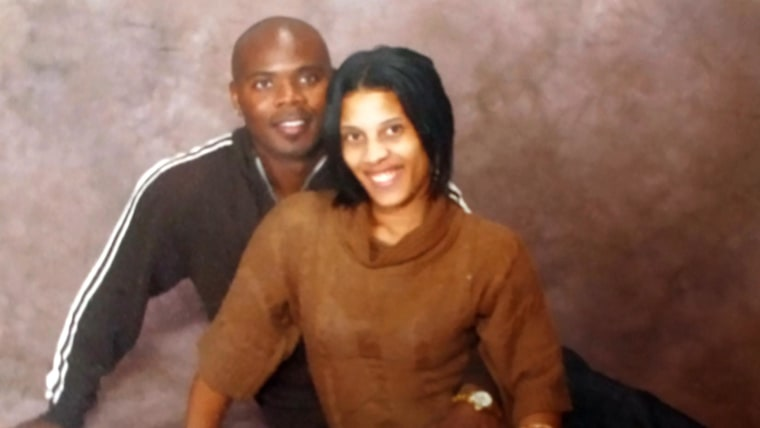 """Cornealious """"Mike"""" Anderson and his wife, LaQonna. Anderson was jailed after it was discovered that he never served a 13-year prison sentence."""