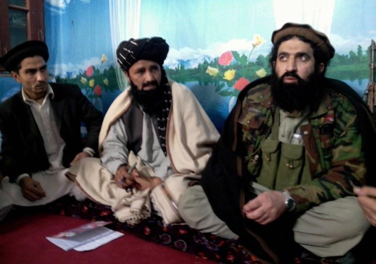 Image: Tehreek-e-Taliban Pakistan (TTP) spokesman Shahidullah Shahid