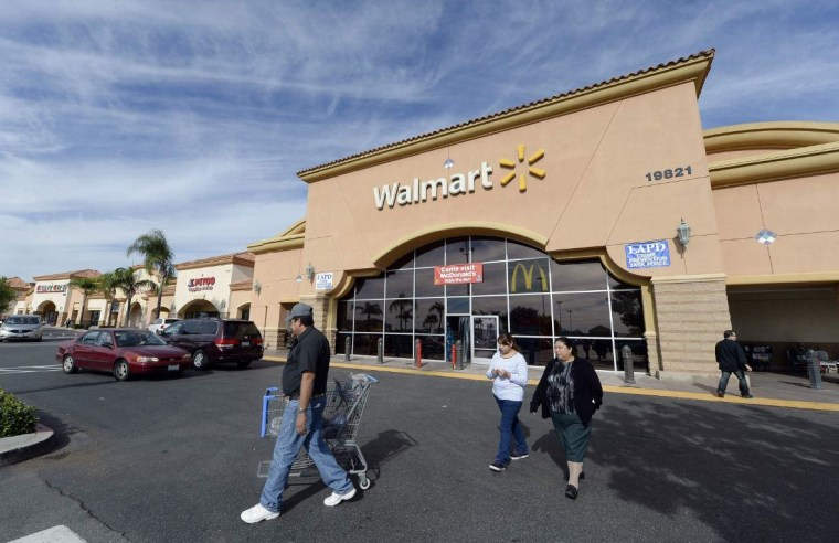 Wal-Mart exterior
